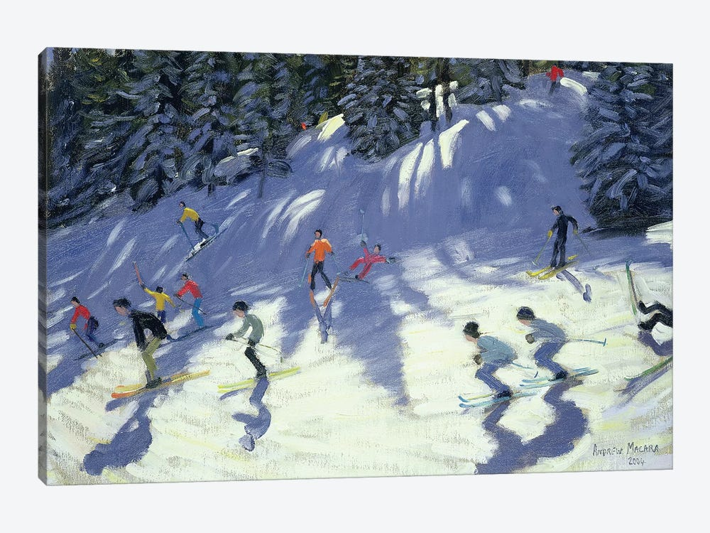 Fast Run by Andrew Macara 1-piece Canvas Art