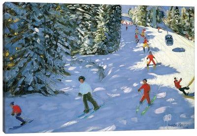 Gondola, Austrian Alps Canvas Art Print