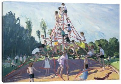 Mundy Playground, Markeaton Park, Derby Canvas Art Print