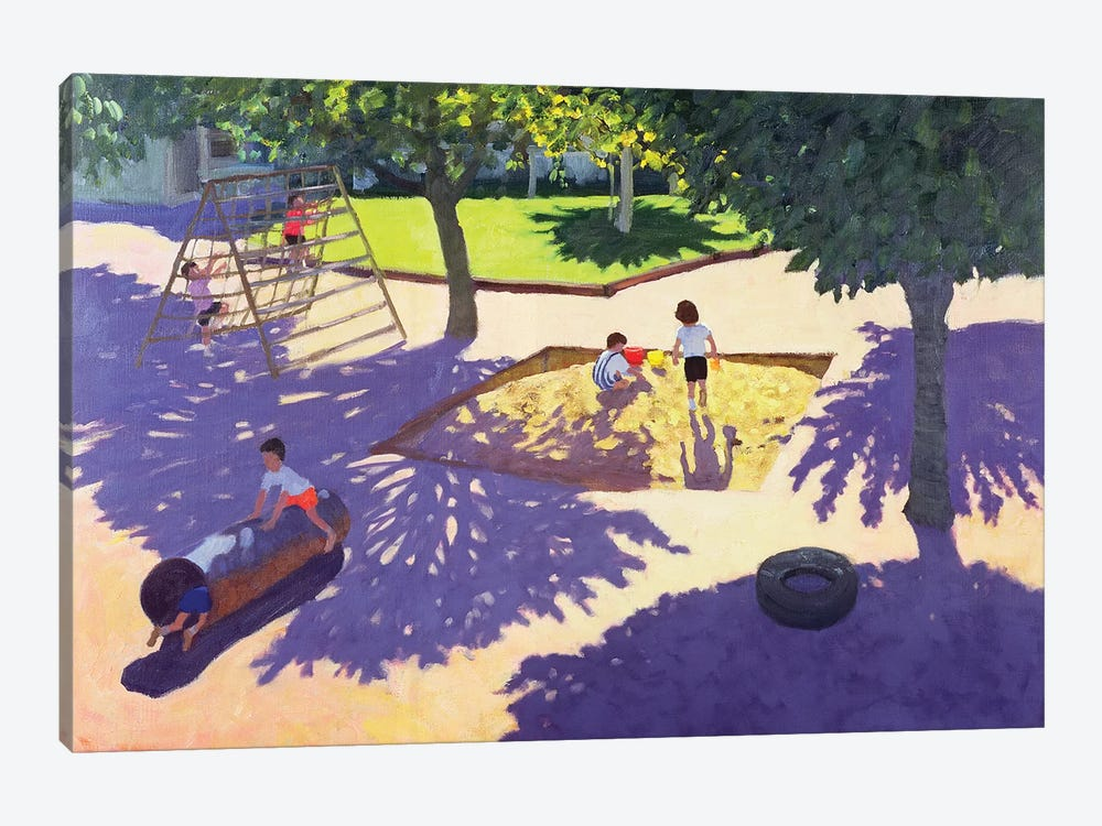 Sandpit, France by Andrew Macara 1-piece Canvas Print
