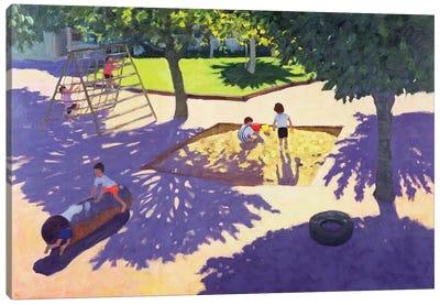 Sandpit, France Canvas Art Print
