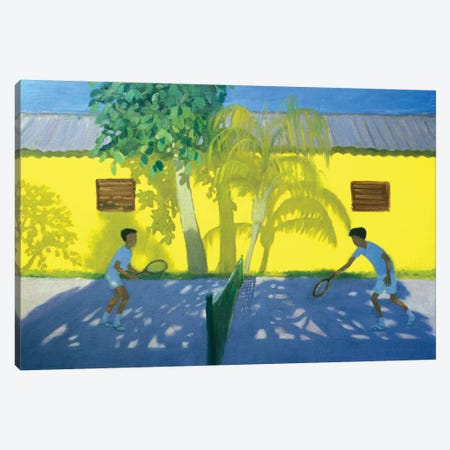 Tennis, Cuba Canvas Print #ADW27} by Andrew Macara Canvas Art