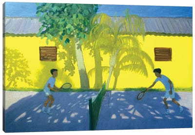 Tennis, Cuba Canvas Art Print