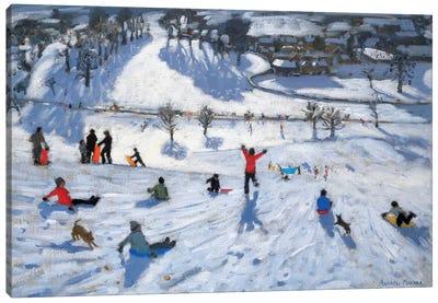 Winter Fun, Chatsworth Canvas Art Print