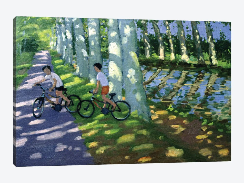 Canal Du Midi, France by Andrew Macara 1-piece Canvas Print