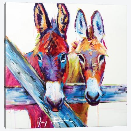 Clover & Dodge Canvas Print #AEC2} by Amy Eichler Canvas Wall Art