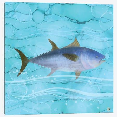 Atlantic Bluefin Tuna Fish Canvas Print #AEE2} by Andreea Dumez Canvas Wall Art