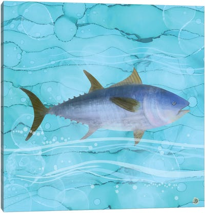 Atlantic Bluefin Tuna Fish Canvas Art Print