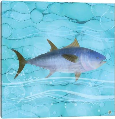 Atlantic Bluefin Tuna Fish Canvas Art Print