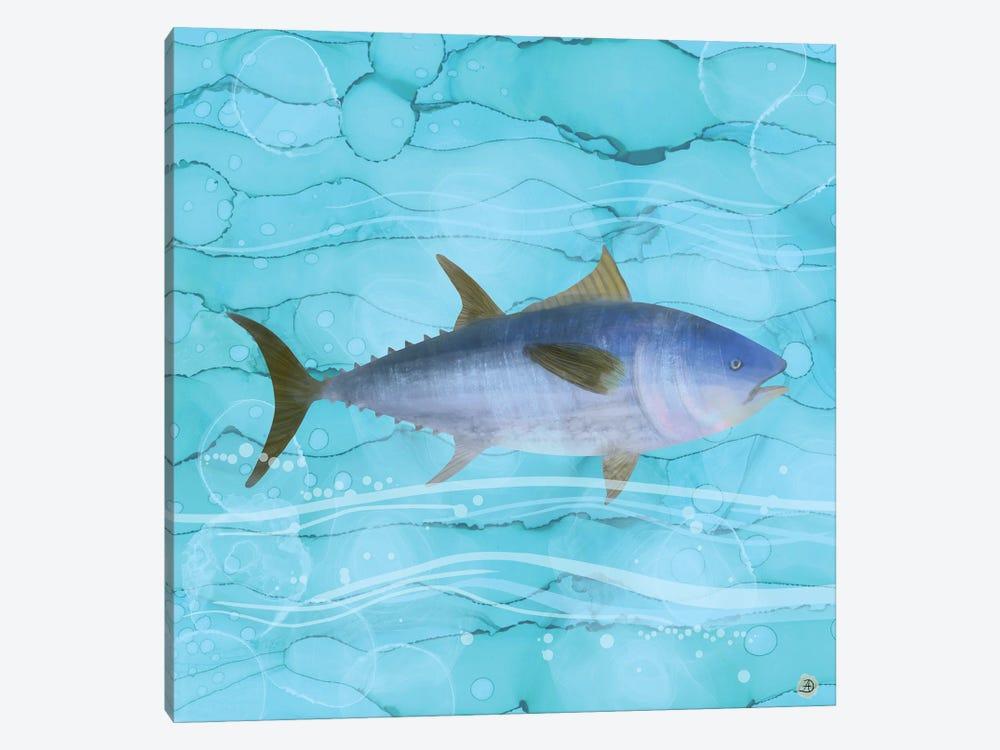 Atlantic Bluefin Tuna Fish by Andreea Dumez 1-piece Canvas Art