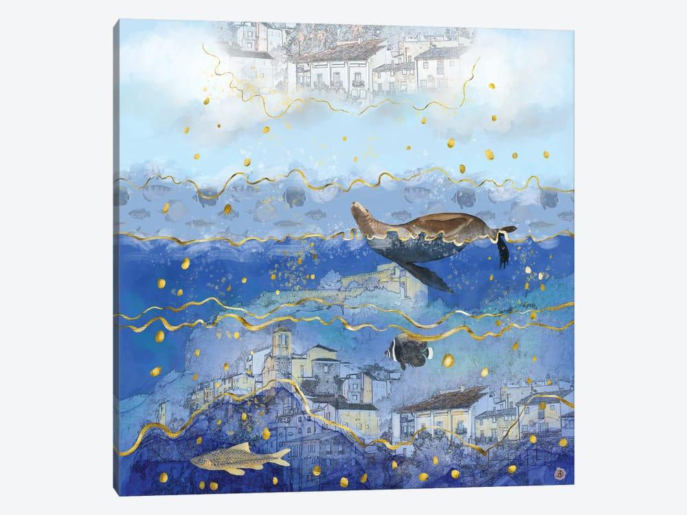 On Earth As It Is In Heaven? by Andreea Dumez 1-piece Canvas Art