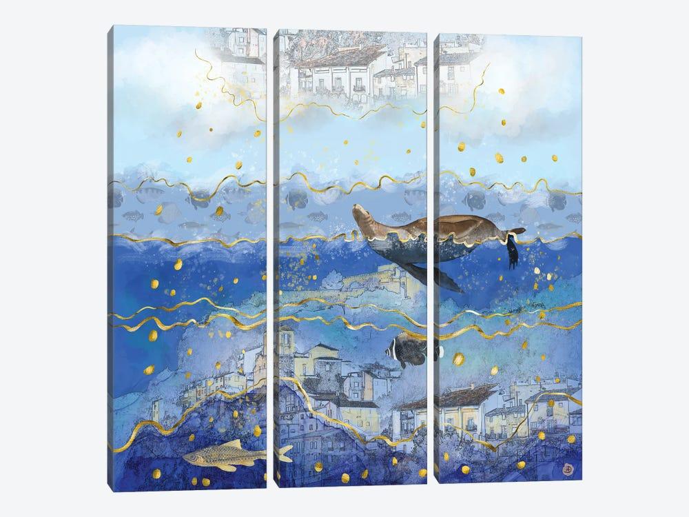 On Earth As It Is In Heaven? by Andreea Dumez 3-piece Canvas Art