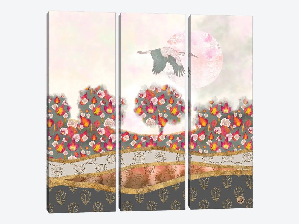 Autumn Dream by Andreea Dumez 3-piece Art Print