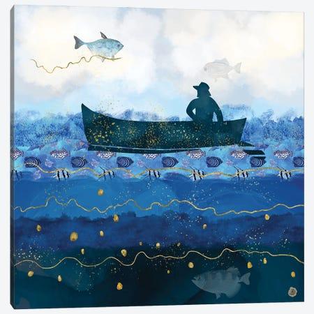 The Fisherman's Dream II Canvas Print #AEE50} by Andreea Dumez Canvas Art Print