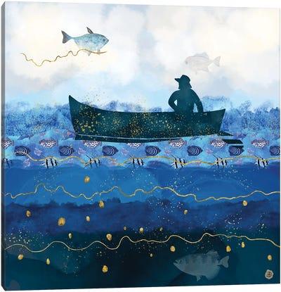 The Fisherman's Dream II Canvas Art Print