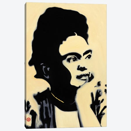 Frida Kahlo Canvas Print #AEK19} by Antti Eklund Canvas Print