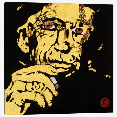 Keith Richards Canvas Print #AEK23} by Antti Eklund Canvas Art