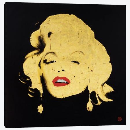 Marilyn Canvas Print #AEK26} by Antti Eklund Art Print