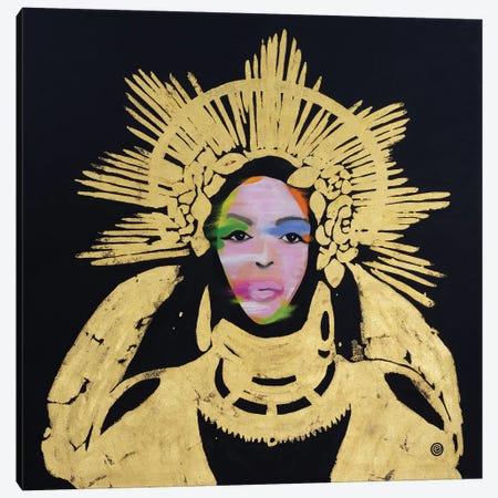 Queen Bey Canvas Print #AEK39} by Antti Eklund Canvas Print