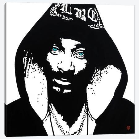Snoop Dogg Canvas Print #AEK42} by Antti Eklund Canvas Art