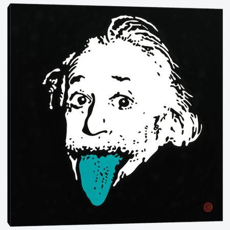 Still Right (Einstein) Canvas Print #AEK44} by Antti Eklund Canvas Print