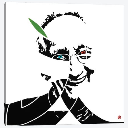 Frank Stella Canvas Print #AEK51} by Antti Eklund Canvas Art Print