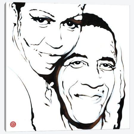 Birthday (White Version) Canvas Print #AEK8} by Antti Eklund Canvas Wall Art