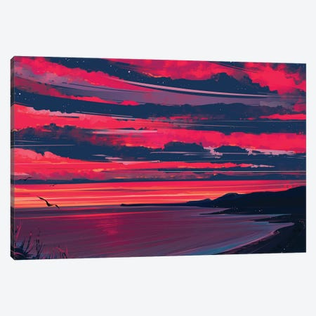 Heaven Canvas Print #AEN10} by Alena Aenami Canvas Wall Art
