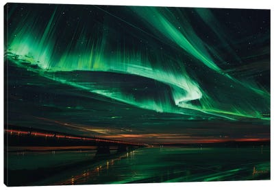 Northern Lights Canvas Art Print