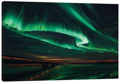 Northern Lights Canvas Art Print