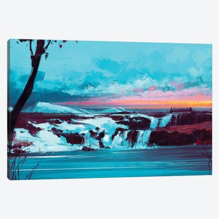 Northwind Canvas Print #AEN13} by Alena Aenami Canvas Artwork