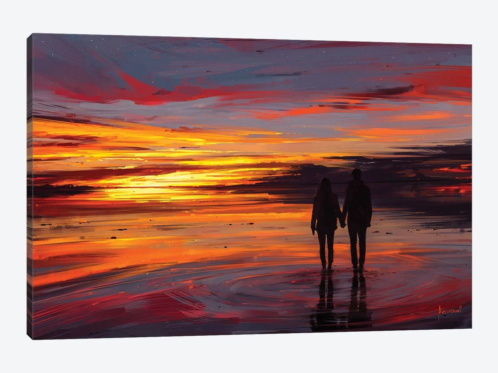 Otherside by Alena Aenami 1-piece Canvas Art