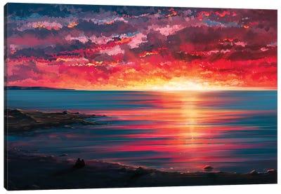 Seaside Canvas Art Print