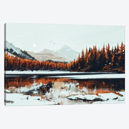Serenity Canvas Print #AEN16} by Alena Aenami Canvas Art Print