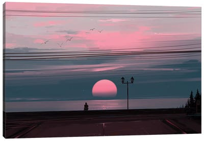 Silent Canvas Art Print