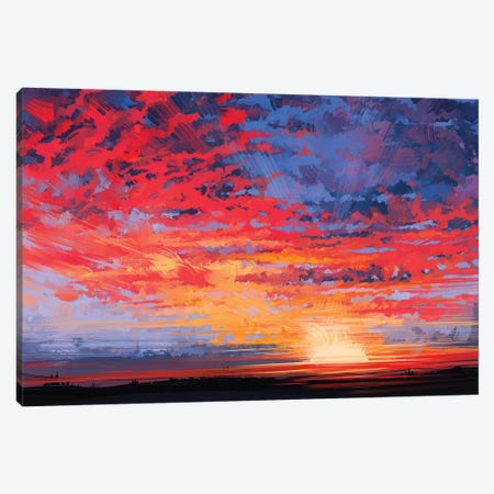 Sky Canvas Print #AEN18} by Alena Aenami Canvas Wall Art