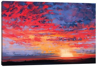 Sky Canvas Art Print