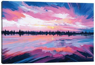 Sky Mirror Canvas Art Print