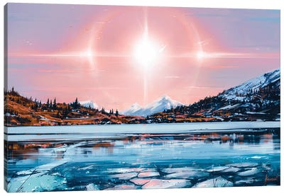 Solar Canvas Art Print