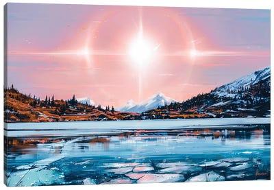 Solar Canvas Art Print