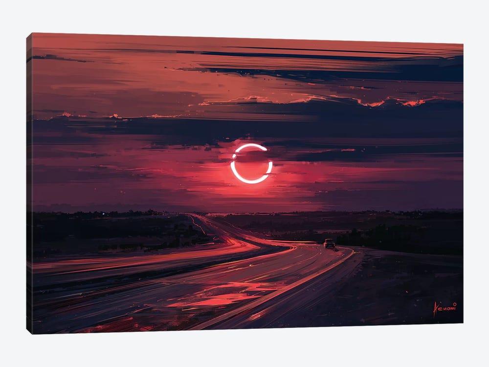 Solar Eclipse by Alena Aenami 1-piece Canvas Artwork