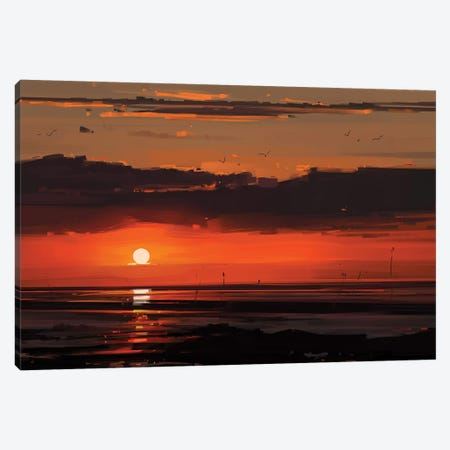 Sunset Canvas Print #AEN23} by Alena Aenami Canvas Print