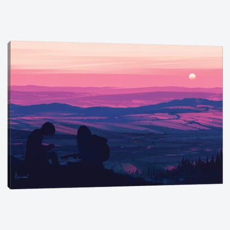 Top Of The World Canvas Print #AEN25} by Alena Aenami Canvas Art
