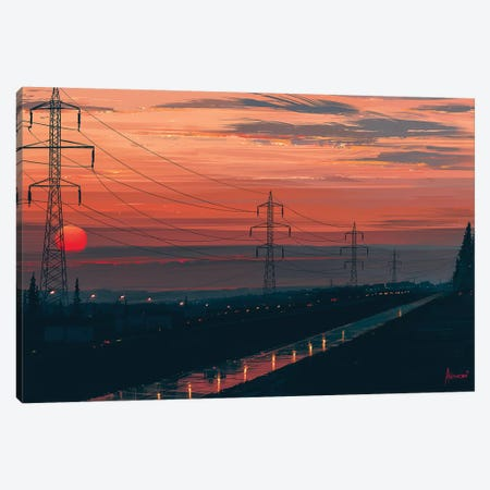 Any Minute Now Canvas Print #AEN2} by Alena Aenami Art Print