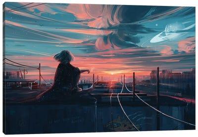 Far From Tomorrow Canvas Art Print