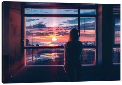 I Wait For You Canvas Art Print