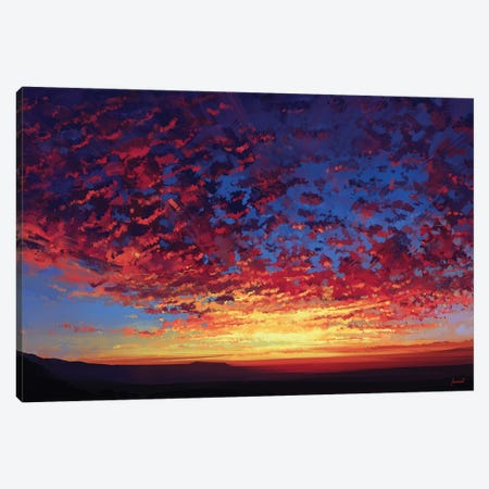 Breath Canvas Print #AEN5} by Alena Aenami Canvas Wall Art
