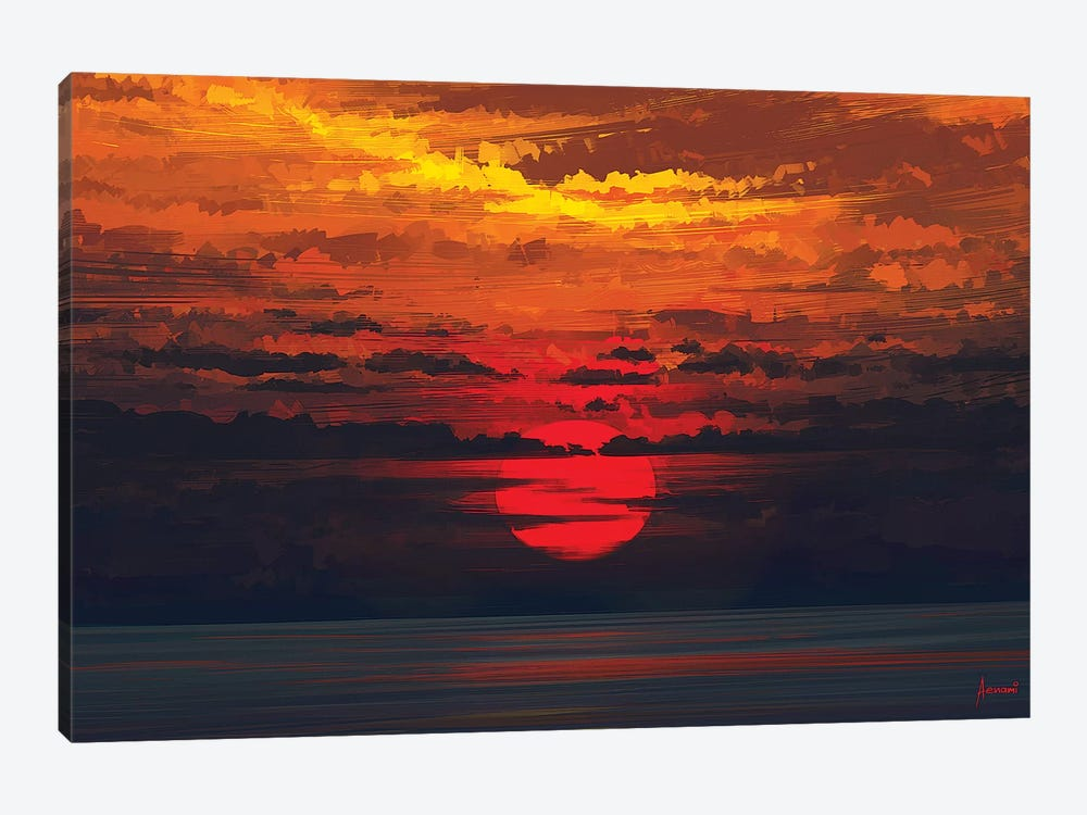 Calm Before The Storm by Alena Aenami 1-piece Canvas Art Print