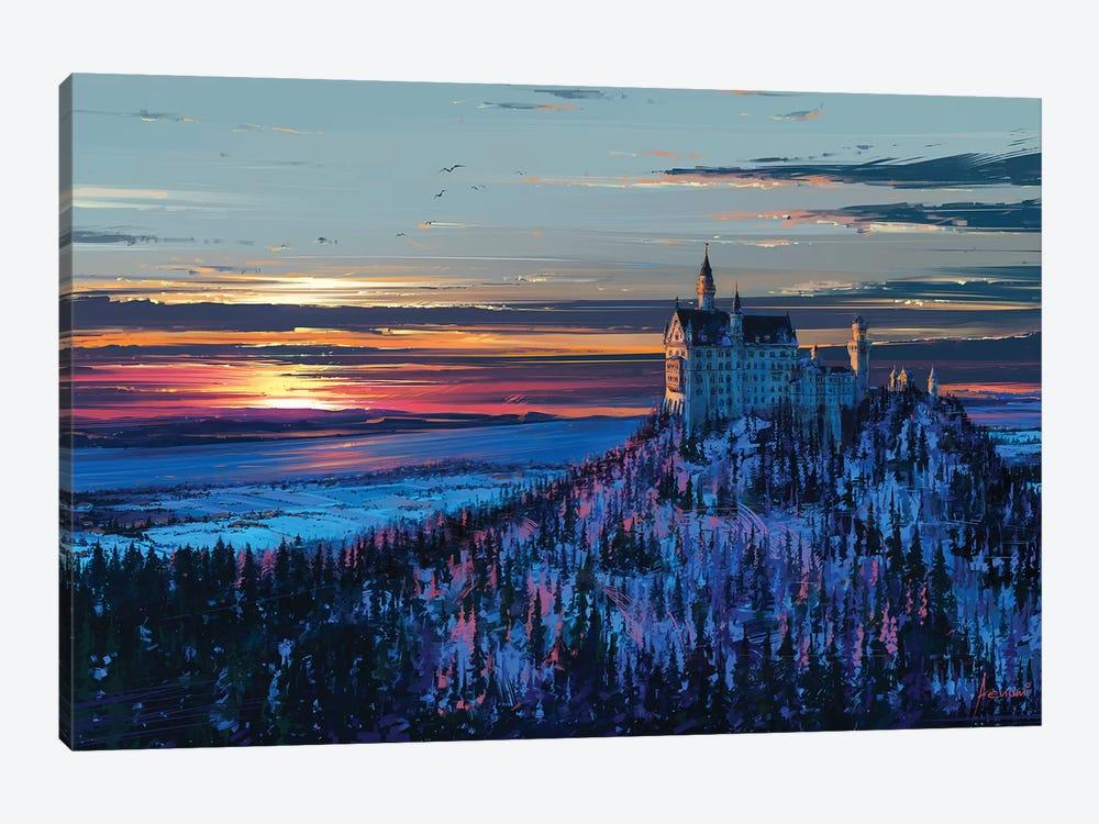 Castle In The Sky by Alena Aenami 1-piece Canvas Artwork