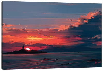 Close To The Sun Canvas Art Print